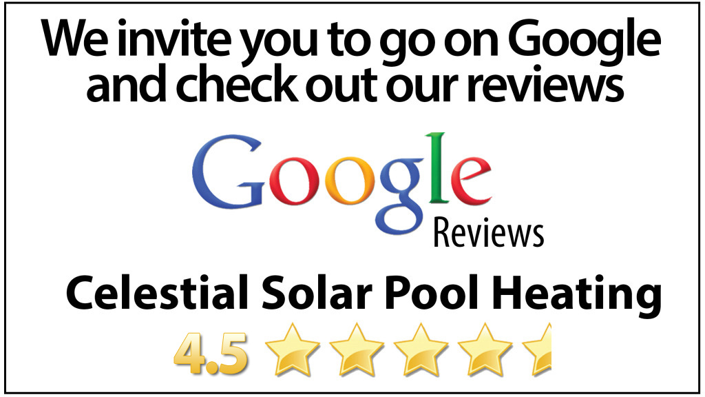 Google Reviews Celestial Solar Pool Heating Las Vegas