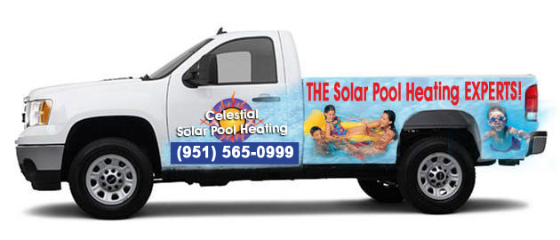 Los Angeles Celestial Solar Pool Heating